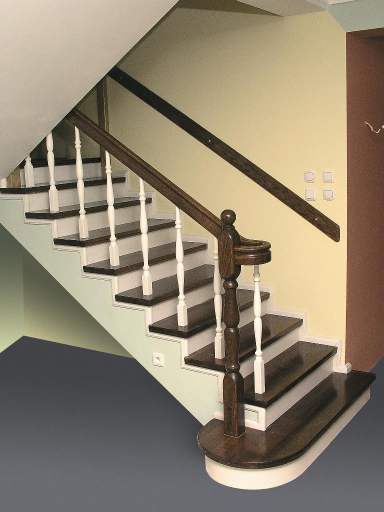 schody drweniane sdł-21